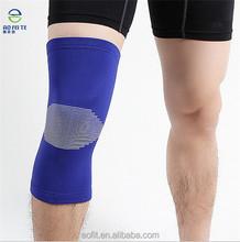 Aliexpres stock más tamaño hasta la rodilla brace con jacaurd kitting atlético rodilla brace