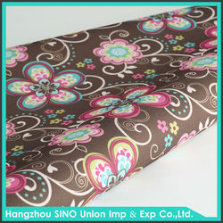 100% polyester indian print polyurethane coated polyester fabric reasonable price