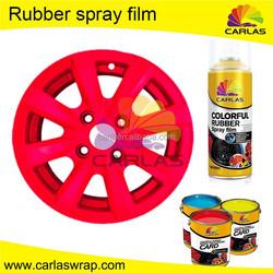 Carlas liquid silicone rubber spray coating , clear rubber coating spray , foam rubber spray