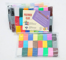 wholesale polymer clay unbaked 24 color polymer clay