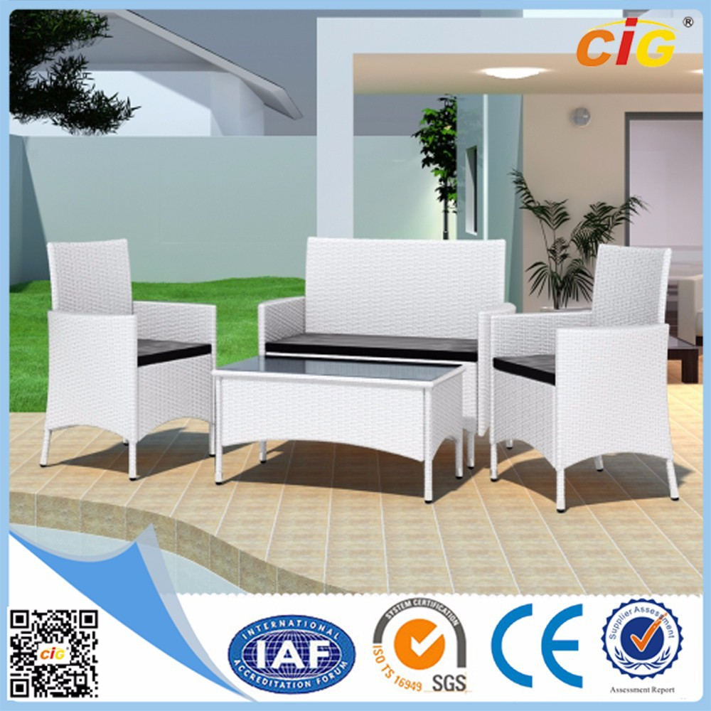 Professional Manufacturer Cheap White Wicker Outdoor Furniture