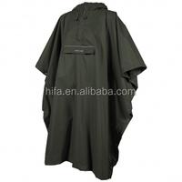 adult rain cape,nylon rain poncho,waterproof breathable poncho