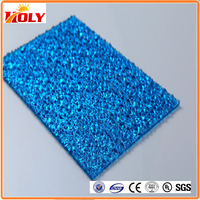 polycarbonate solid sheet prismatic polycarbonate sheet