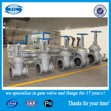 Gost Standard steel stem gate valve manufacture