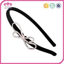 Hand made rhinestone bow boutique headbands
