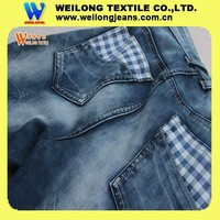 B2441-A 11.4oz double layer heavy fabric fabric cotton waste recycling machine