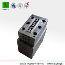 WPC profile extrusion tooling for decking floor