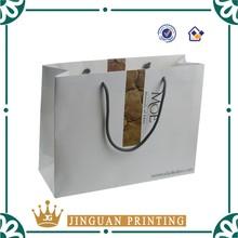 Fancy custom paper bag/gift packaging bag in China