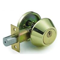 High Quality Tri-Circle Deadbolt Lock D101BS/BP
