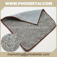 different kinds of dyed and rotary printed microfiber towel with logo for kitchen and bathroom and car cleaning