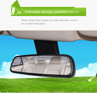 best dvr with ADAS gps electronics dog g-sensor 1296p vehicle car black box completely replace the original rearview mirror