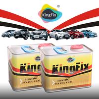 KINGFIX Brand cheaper prices premium clear coat for auto paint