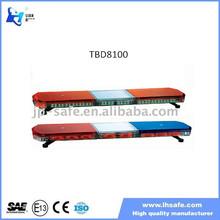 Wholesale High Quality LED Flashing Warning Police Bar Light with CE TBD8100