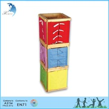 Chinese original preschool montessori teaching MDF wood toy