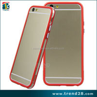 2014 new arrival 4.7 inch mobile phone case for iPhone 6, for iphone 6 bumper case