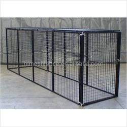 large dog run chain link animal cage/soft portable garden dog fence panel