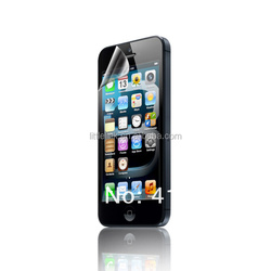 For Brand 98% Transparent Clear screen protector for iphone 5 /5s, for iphone 5 protector