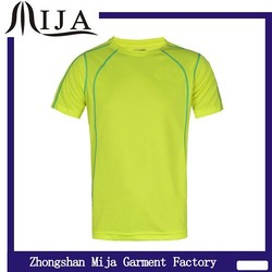 Custom logo & design slim fit polyester fabric t shirt dry fit