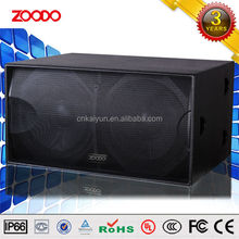 HF-218 Ultra-bass Full-range Speaker Dual 18-inch Subwoofer