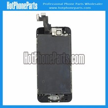 Replacement lcd screen digitizer for iPhone 5s, black, come with small parts, white and gold colors are available