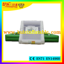 Guangzhou Kule inflatable sport games used football field equipment football field fence