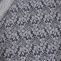 2016 new sample of lace fabric 100%cotton / Embroidery designs plain white cotton fabric african lace fabrics