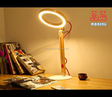 Fashion style logs solid wood table lamp living room lights study light antique personalized lights
