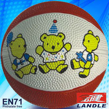 phthalate free outdoor basketball Nice Wholesale rubber made mini #3 outdoor basketball