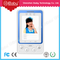 Id card gps tracker Kids phone device sos emergency mobile phone