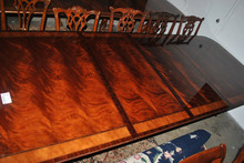 Drexel Robinson Large 11 ft Long Mahogany Dining Table, MSRP $8,000