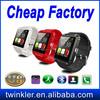 Original! For samsung galaxy gear smart watch bluetooth U watch U8 smart watch
