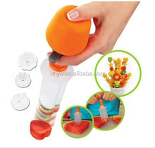 New fshion nice Birthday Gifts Mom Chef pop 10-pc Perfect fruit decoration Fruit and Vegetable POP and Chef