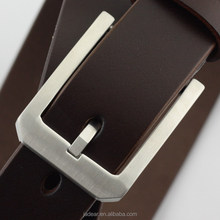 Jadear Fashion Stainless Steel Buckle OEM mens leather belts no buckle C01