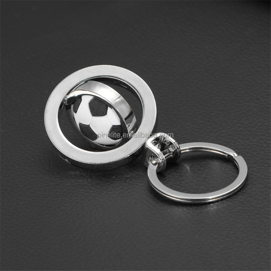 Zinc alloy top quality soccer metal keychain,with keychain ring for wholesale.jpg