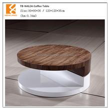 Foshan Newland furniture factory modern wood tea table (TB-N412A)
