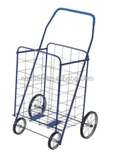 collapsible personal shopping cart with wheels