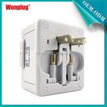 Mini Top Selling Worldwide Wonplug Patent 1Year Guarantee Cheap 12v 1a interchangeable plug adapter