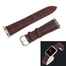 New Coming!!!! Genuine Leather Watch Band for Apple Watch 38mm with Metal Connector