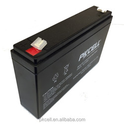 Sealed Lead Acid Battery 6v 7Ah for UPS used
