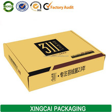 logistic corrugated carton box packaging for shipping