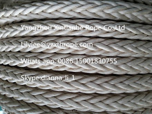 Ultra High Molecular Weight Polyethylene Fiber Mooring Rope 12-strand