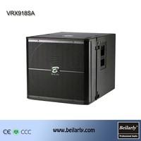 Concert speaker system 18 inch speakers subwoofer system