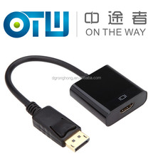 DisplayPort DP Male to HDMI Female Adapter Cable Converter for Dell HP Lenovo