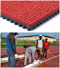 Huadongtrack, IAAF Approved Prefabricated Vulcanized Rubber Athletic Track For 400 Meter Standard Running Field