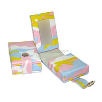 Colorful Camouflage Pattern Cloth Wrapped Cardboard Gift Box