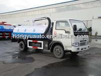 Hongyu Hot sale 2.5-3.5 cubic meter fecal suction truck