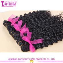 Top quality brazilian human hair extension 100% unprocessed virgin brazilian jerry curl hair weave