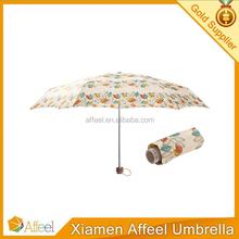 High Quality Light 5 Fold Mini Umbrella