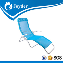 hot selling traveling lightweight deluxe folding round cool beach lounge chair