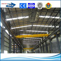 H steel column sandwich panel prefabricated steel structure warehouse workshop building